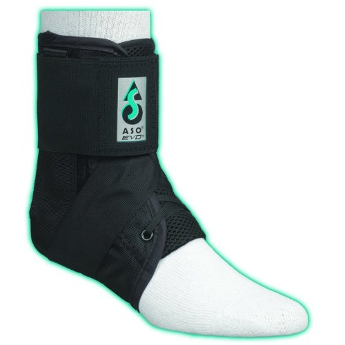 ASO basketball ankle brace with lace up ankle protection