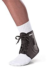 rolled ankle brace to prevent injury when playing sports