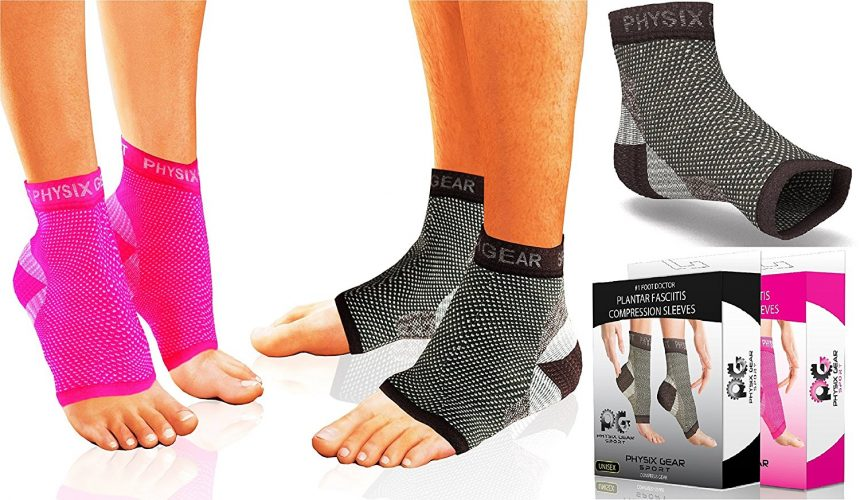 Physix Gear Gymnastics Ankle Brace for both women and men. The number one rated gymnastics ankle support on the market.