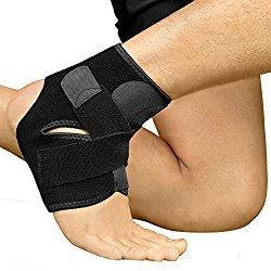 2b87c520c2 Bracoo Ankle Support, Compression Brace for Sport Injuries- Breathable  Neoprene Sleeve for Pain Relief