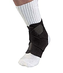 one of the best compression socks for sprained ankle. can be used with socks and sport shoes