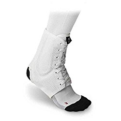 nest lacrosse ankle brace number 4 on the list mcdavid 199 white