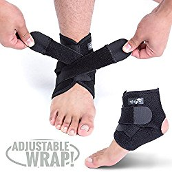 high quality strap compression ankle brace for volleyball players. Bodyprox ankle support brace