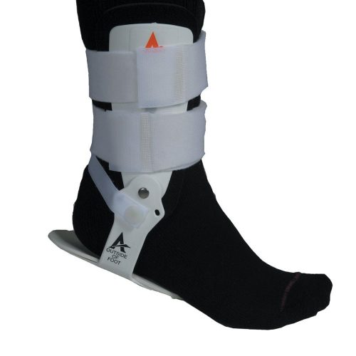 Active ankle brace. T1, Black and White Color, Best ankle brace in the USA. best for volleyball, basketball and cheerleading.