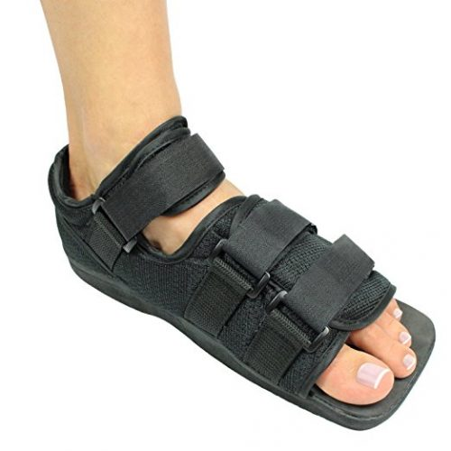 Durable Foot Cast For Support & Recovery - Vive Guarantee. Comfortable lightweight shoe in the USA