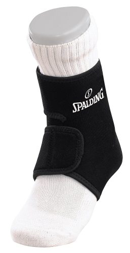 the best ankle support in the USA. spalding neoprene ankle support. comes in black color