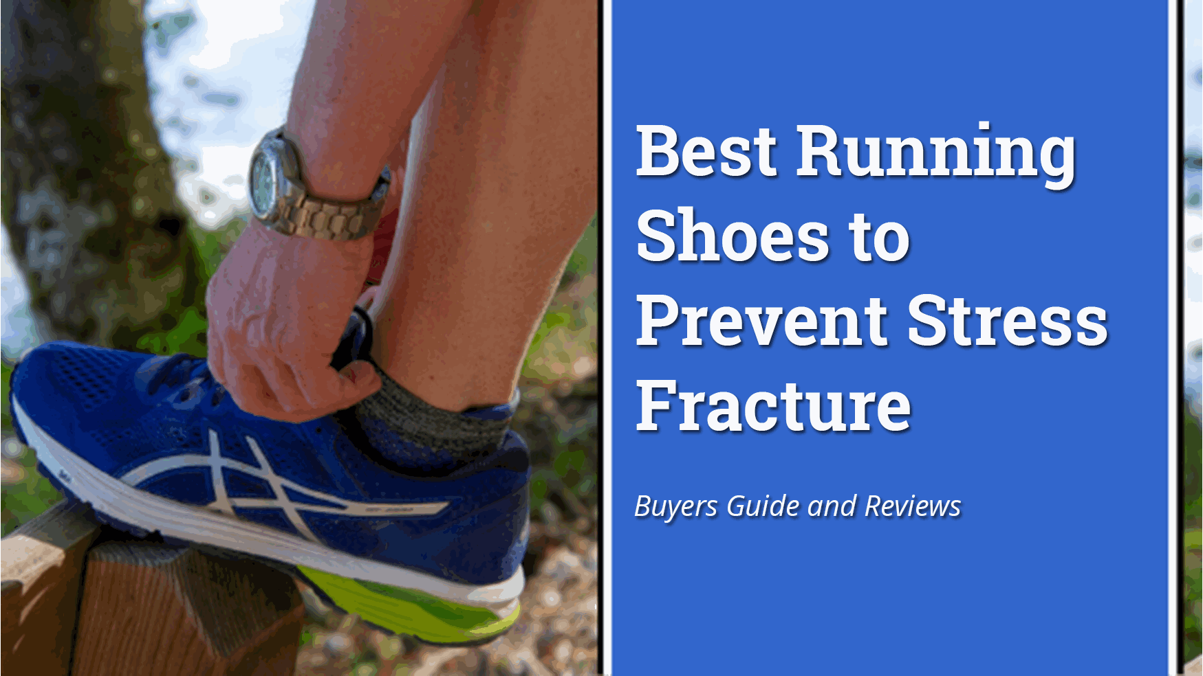 Best Running Shoes to Prevent Stress